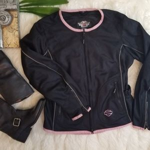 Harley-Davidson Pink Label Mesh Riding Jacket